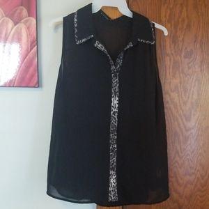 Tank top blouse